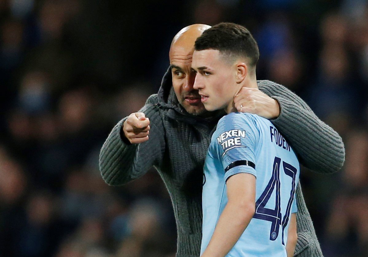 Manchester City fans take to Twitter to demand Foden start