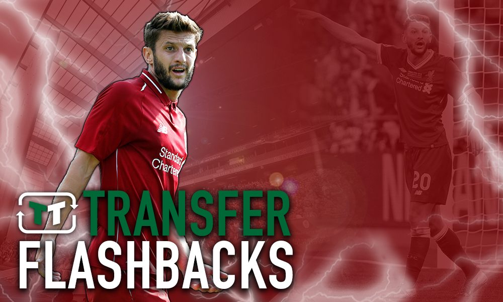 Flashback: Liverpool sign Adam Lallana