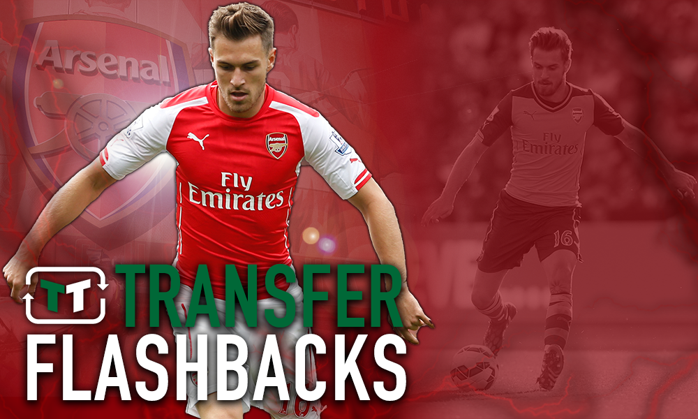 Flashback: Aaron Ramsey signs new deal at Arsenal