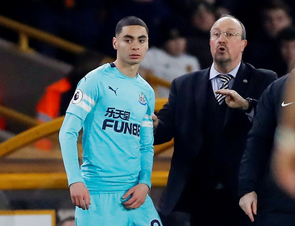Newcastle: St James Park may finally have something to celebrate with £14m Almiron profit