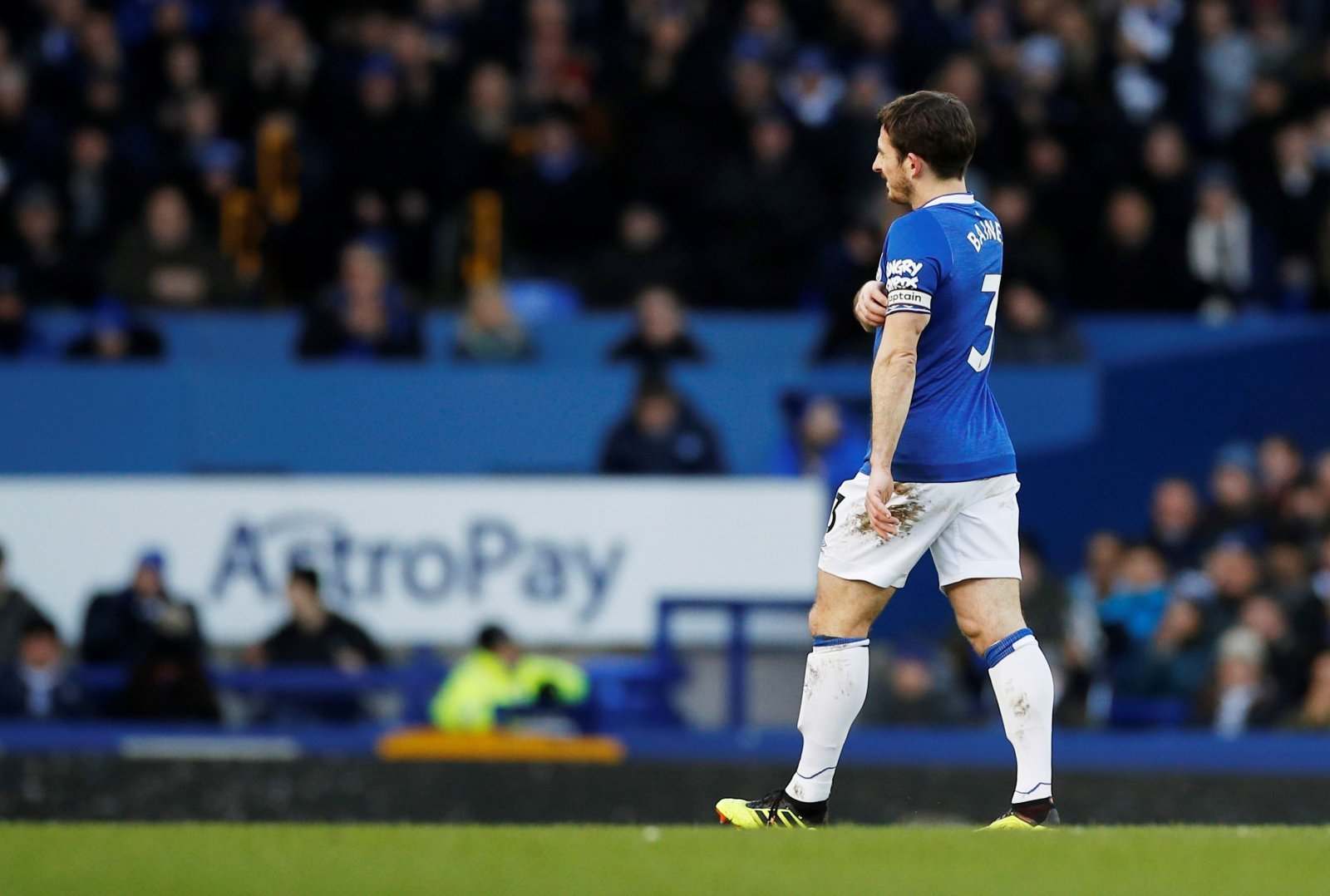 Everton: Leighton Baines could make the bench against Aston Villa
