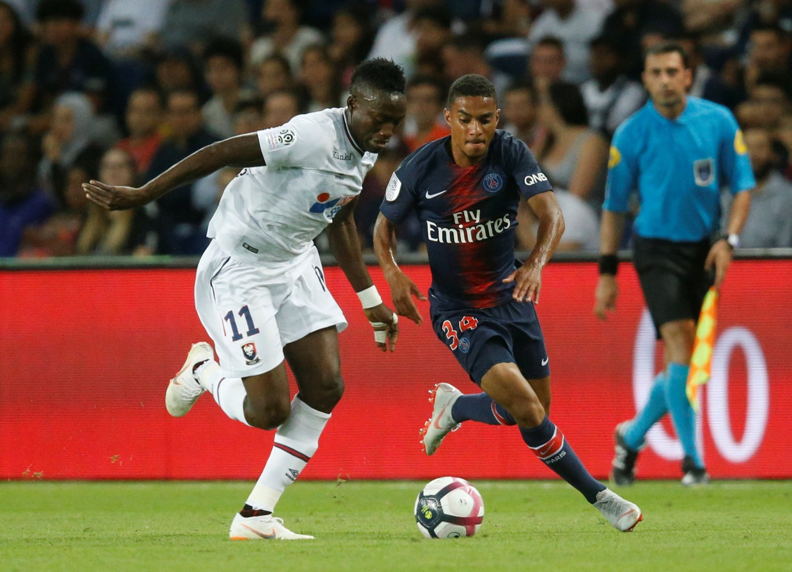 Southampton had loan offer for Colin Dagba turned down by PSG