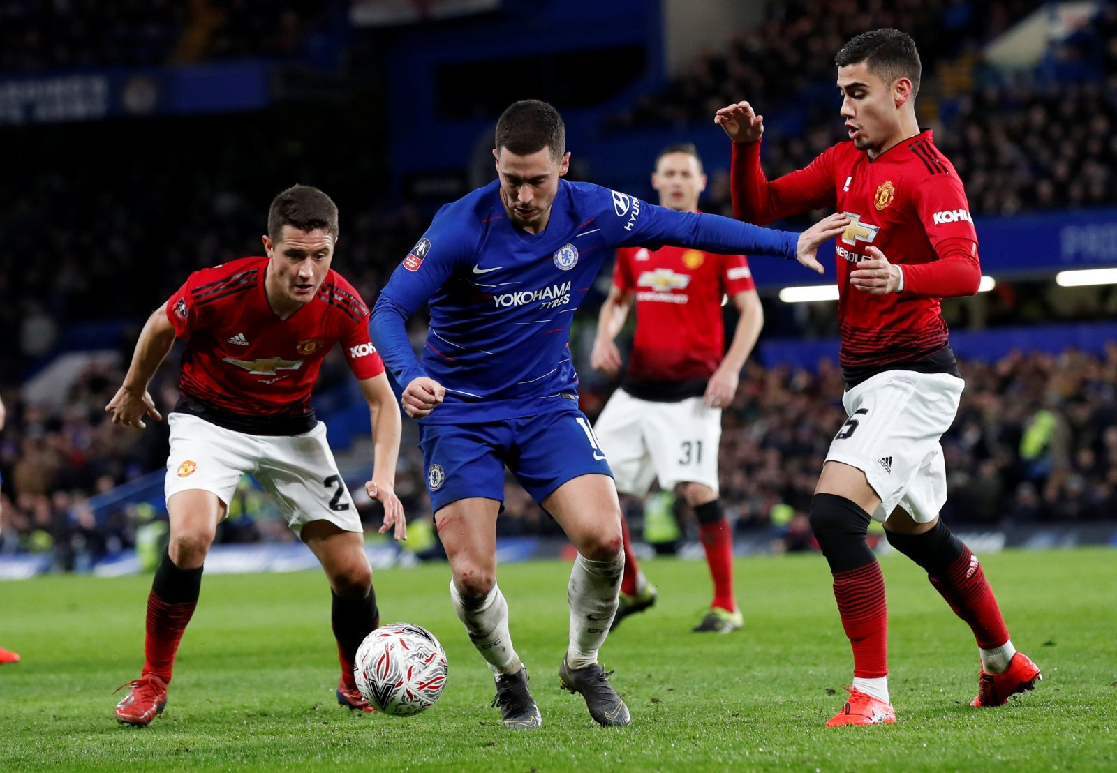 Unsung heroes: Eden Hazard the only Chelsea player worth his salt