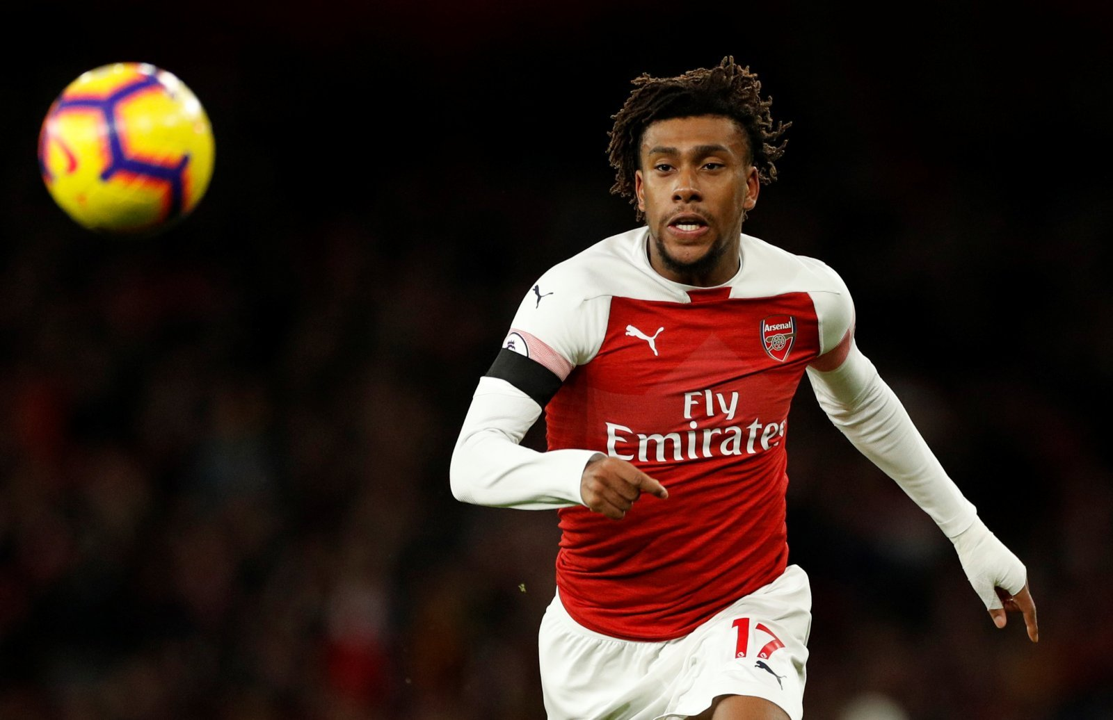 Arsenal fans take to Twitter to celebrate Iwobi injury