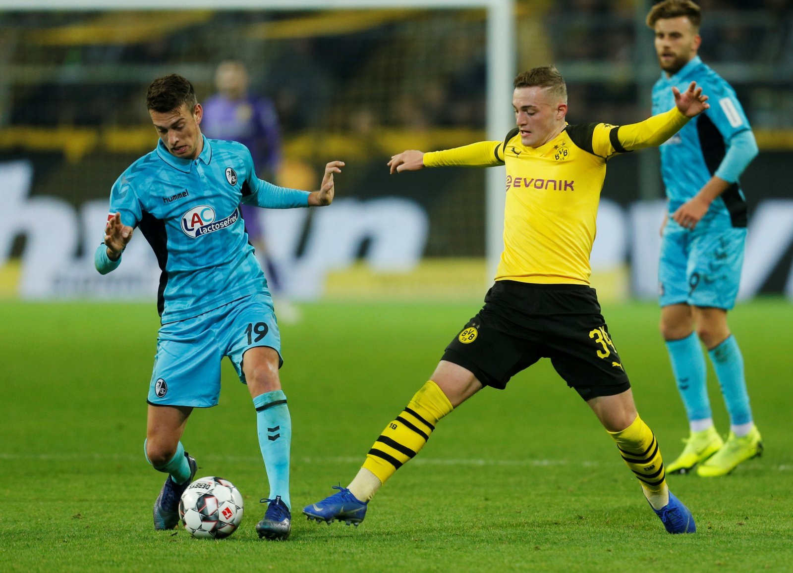 Dortmund's Jacob Bruun Larsen could be a star for Everton