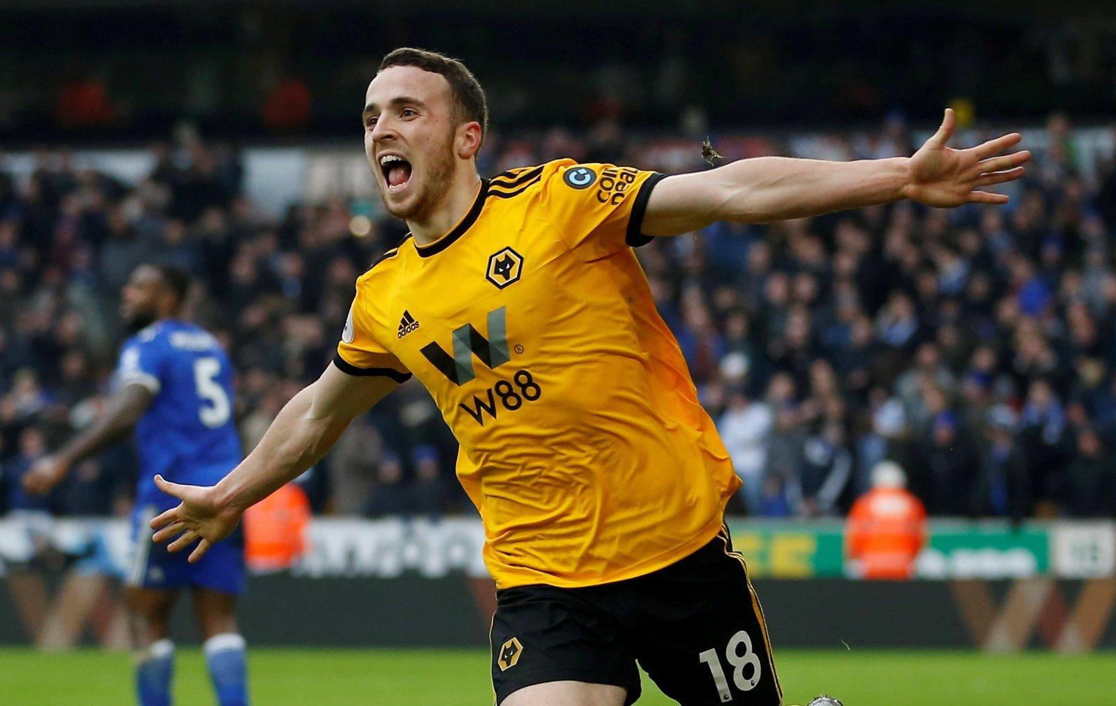 Wolves: Fans delighted to see Diogo Jota making his Portugal debut