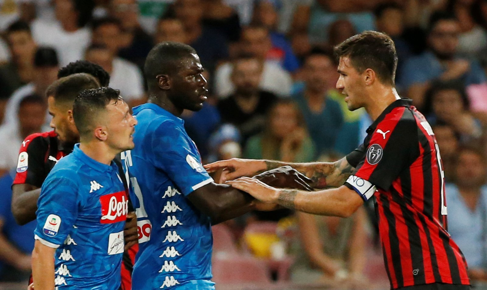 Manchester United's central defender search: Koulibaly miles ahead of Romagnoli