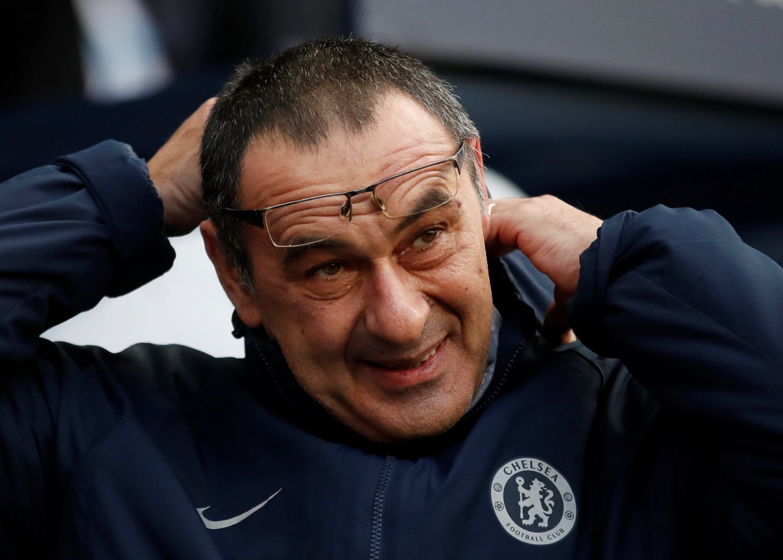 Chelsea fans take to Twitter to lambaste Sarri for same old changes