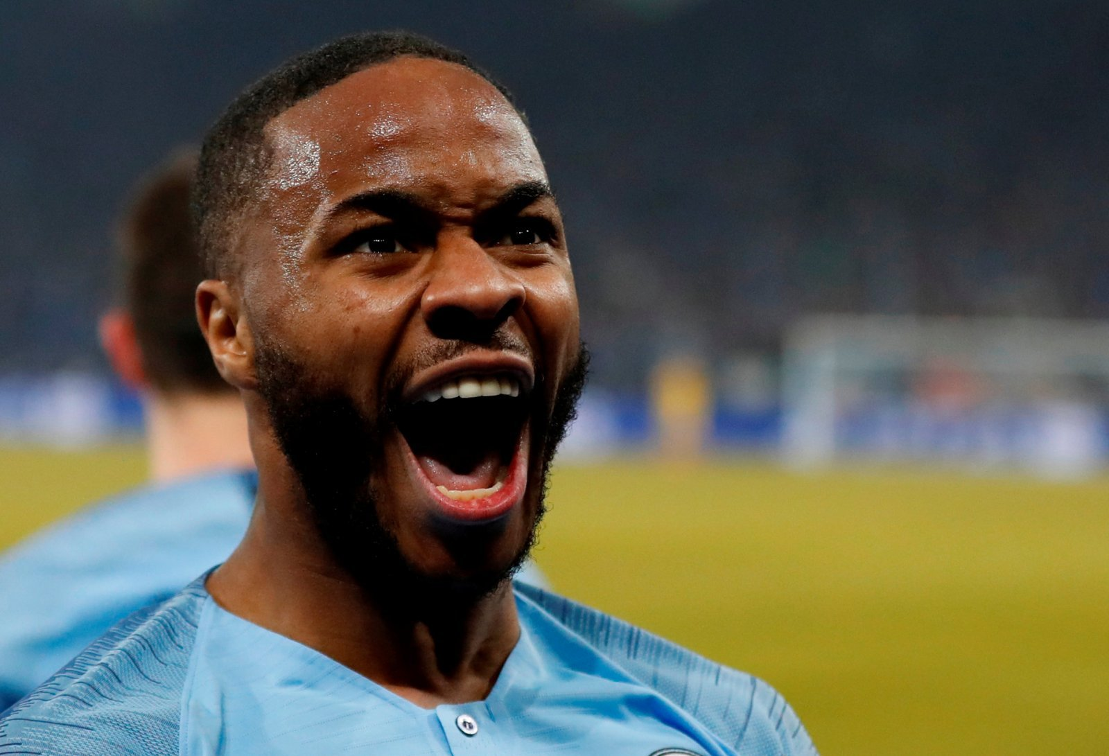 Unsung hero: Raheem Sterling came of age in the Champions League last night