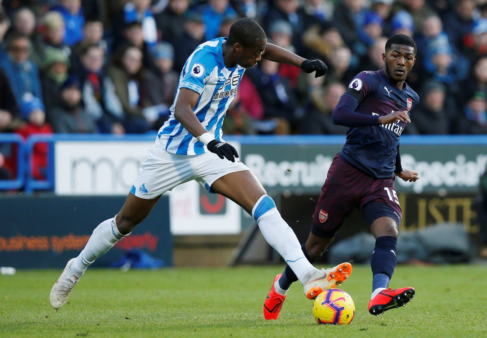 Terence Kongolo could be a brilliant option for Palace if Huddersfield go down