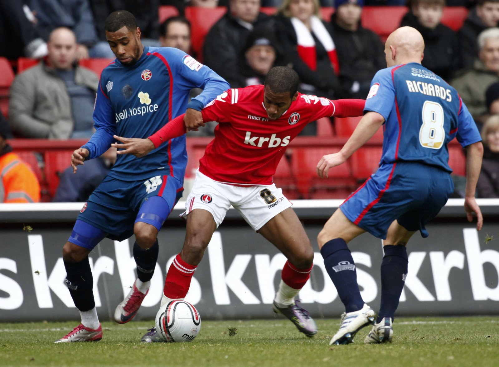 Look at him now: Life after Charlton for Therry Racon