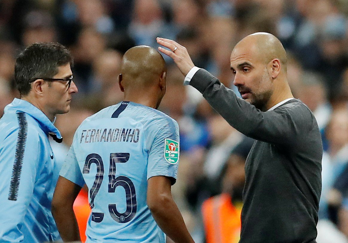 Fernandinho injury could stop Man City's momentum in its tracks