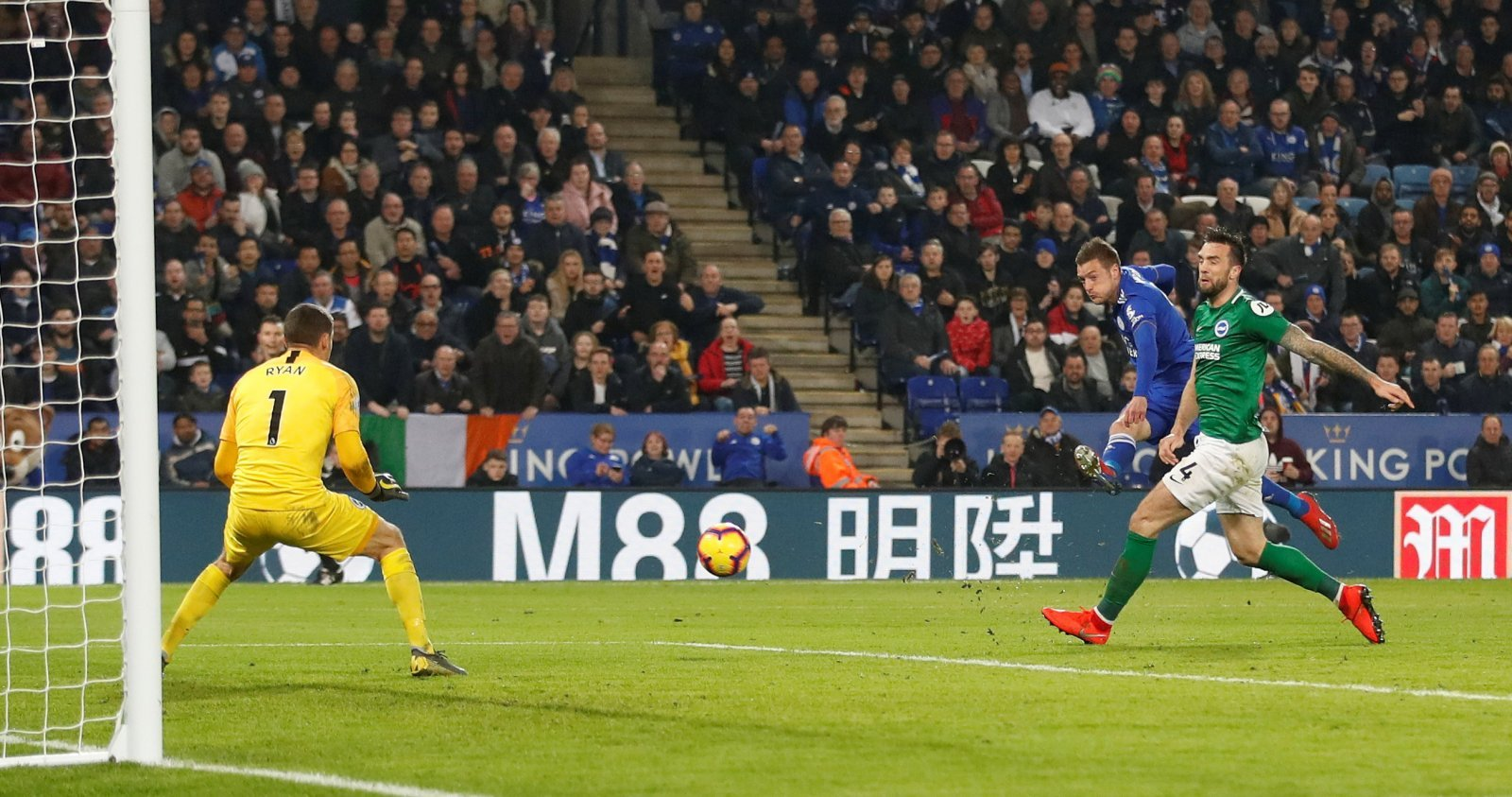 Unsung hero: Brendan Rodgers will love what he saw from Jamie Vardy