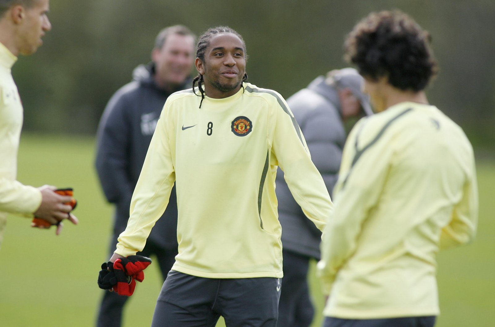 Look at him now: Anderson and Manchester United