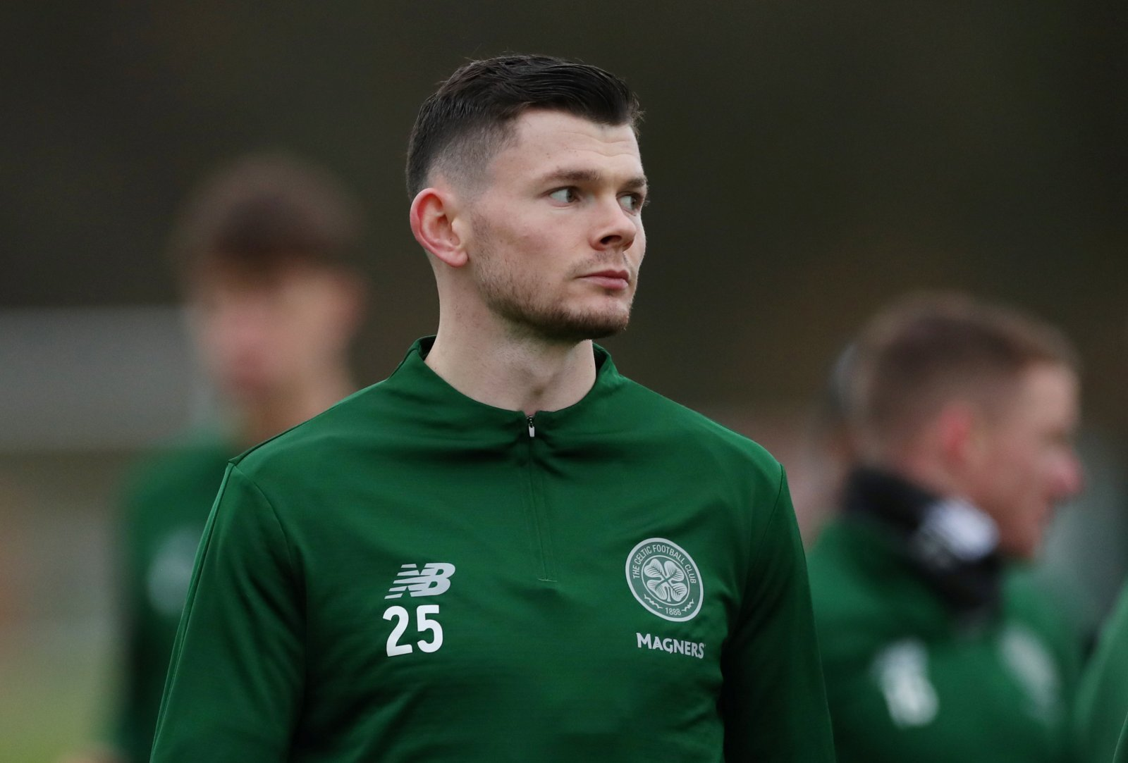 Oliver Burke admits he wants to stay at Celtic permanently