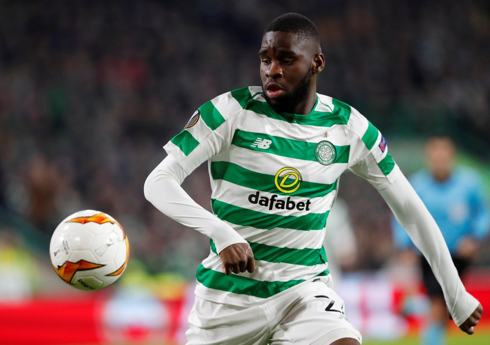 Celtic: Fans furious over Odsonne Edouard and Kristoffer Ajer injuries