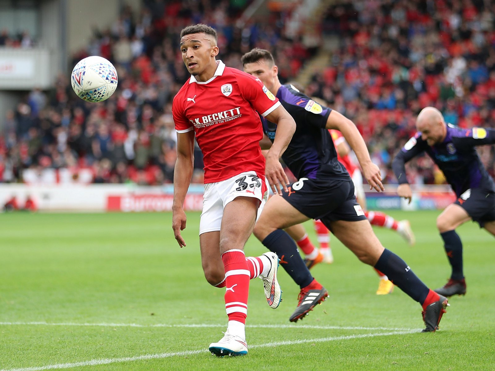 Introducing: Jacob Brown, the man who could fire Barnsley to promotion from League 1