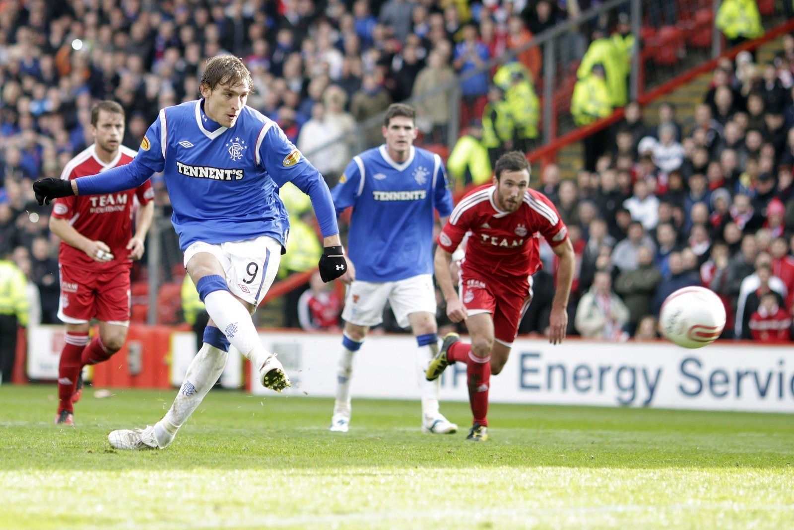 Look at him now: Nikica Jelavic and Rangers