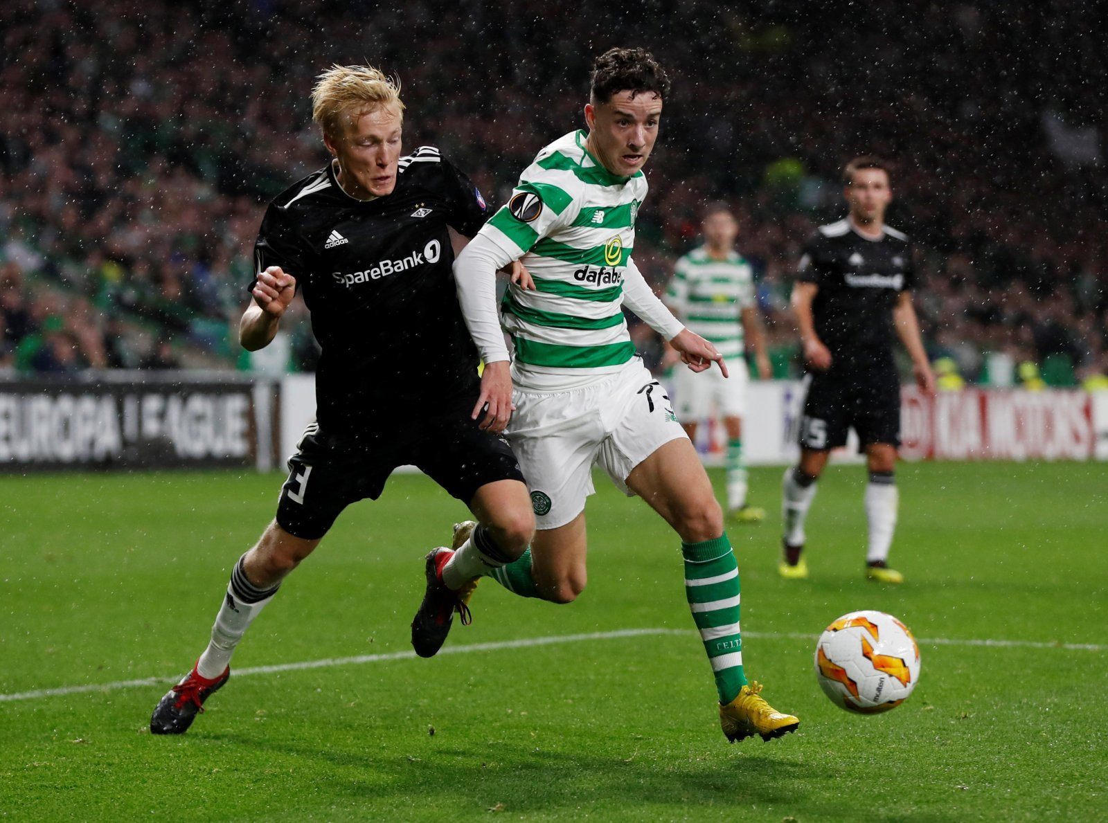 Celtic: Mikey Johnston withdraws from Scotland under-21 squad with injury