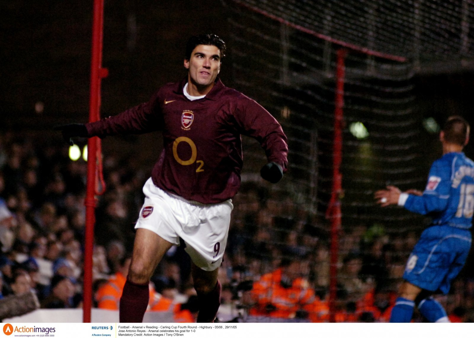 Look at him now: Jose Antonio Reyes and Arsenal