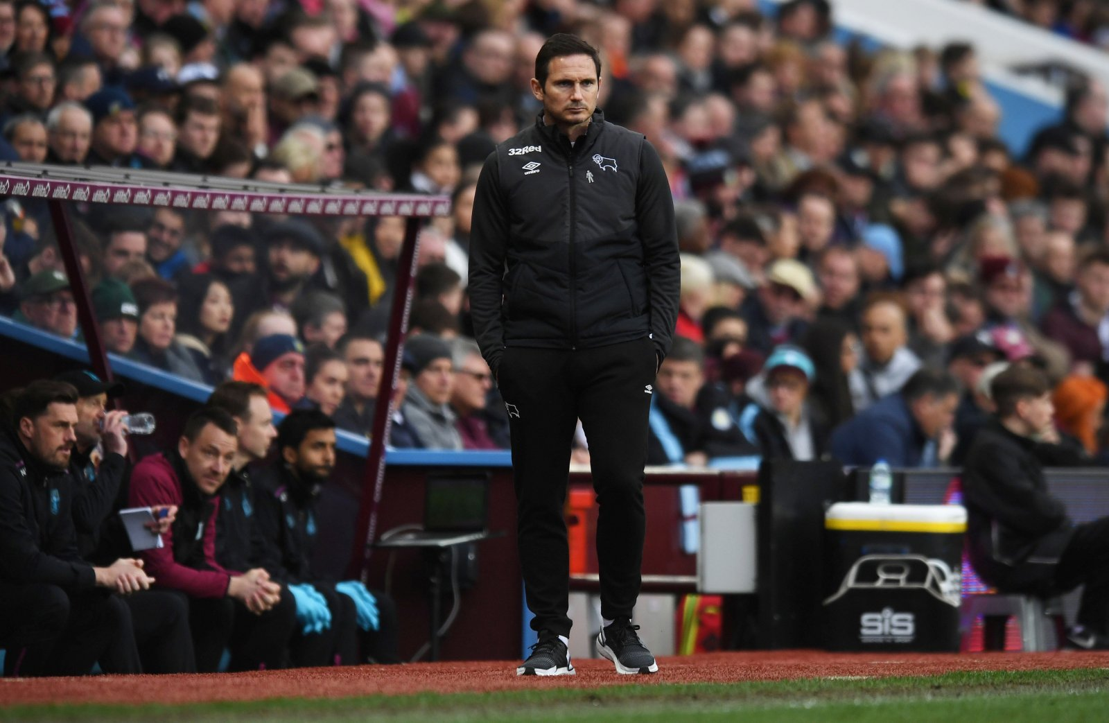 The excitement behind Frank Lampard is fading quickly at Derby