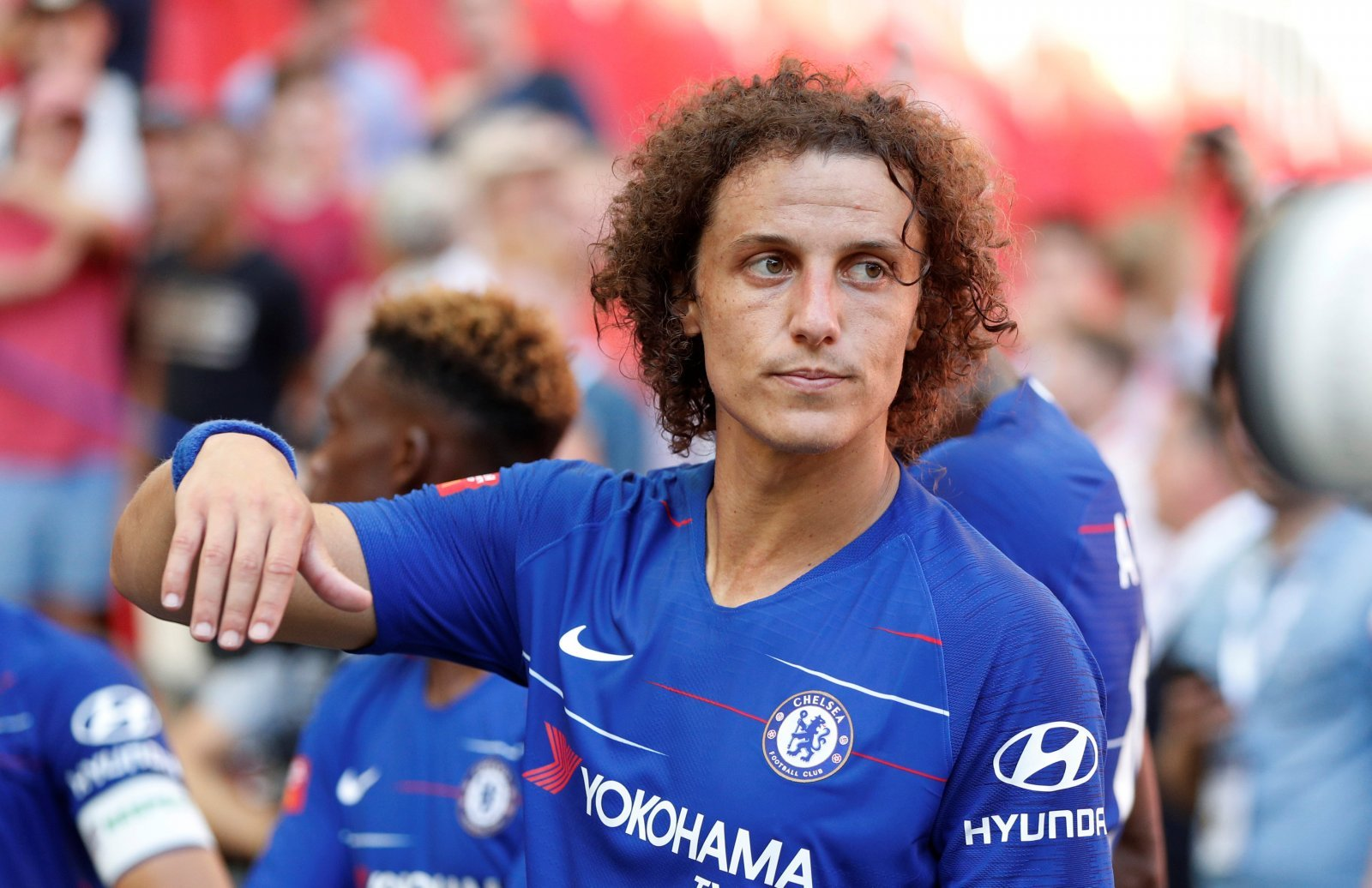 Chelsea fans have got to hope the David Luiz rumours are false