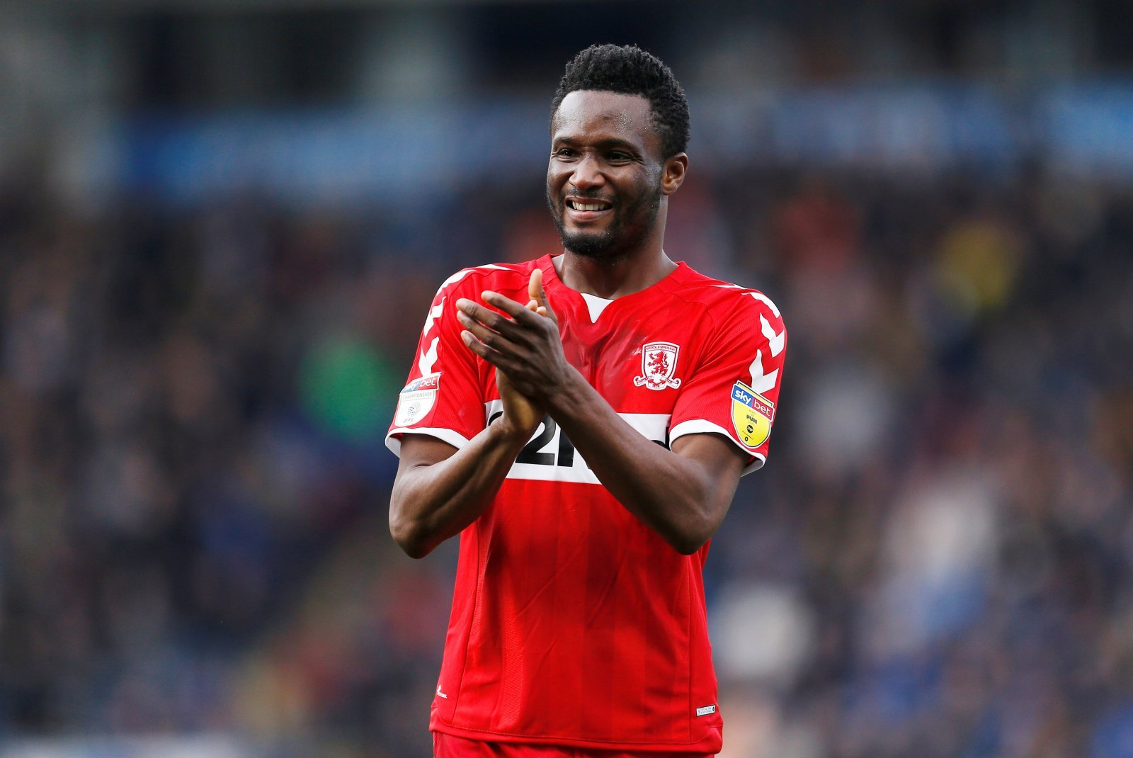 Middlesbrough fans on Twitter pine for a John Obi Mikel extension