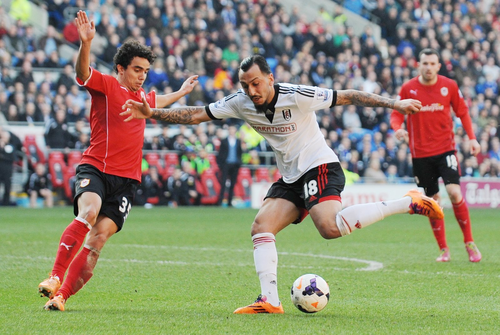 Look at him now: Konstantinos Mitroglou and Fulham