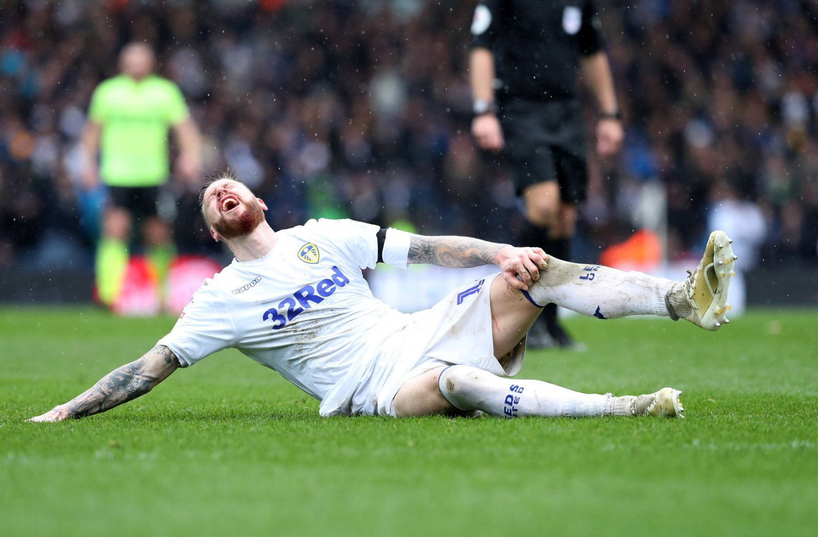 Marcelo Bielsa admits he does not know how bad Pontus Jansson's injury is