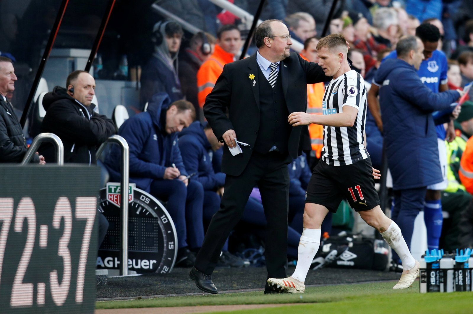 Newcastle United: Ritchie glad he stayed in Toon, but must revert to the wing on Saturday