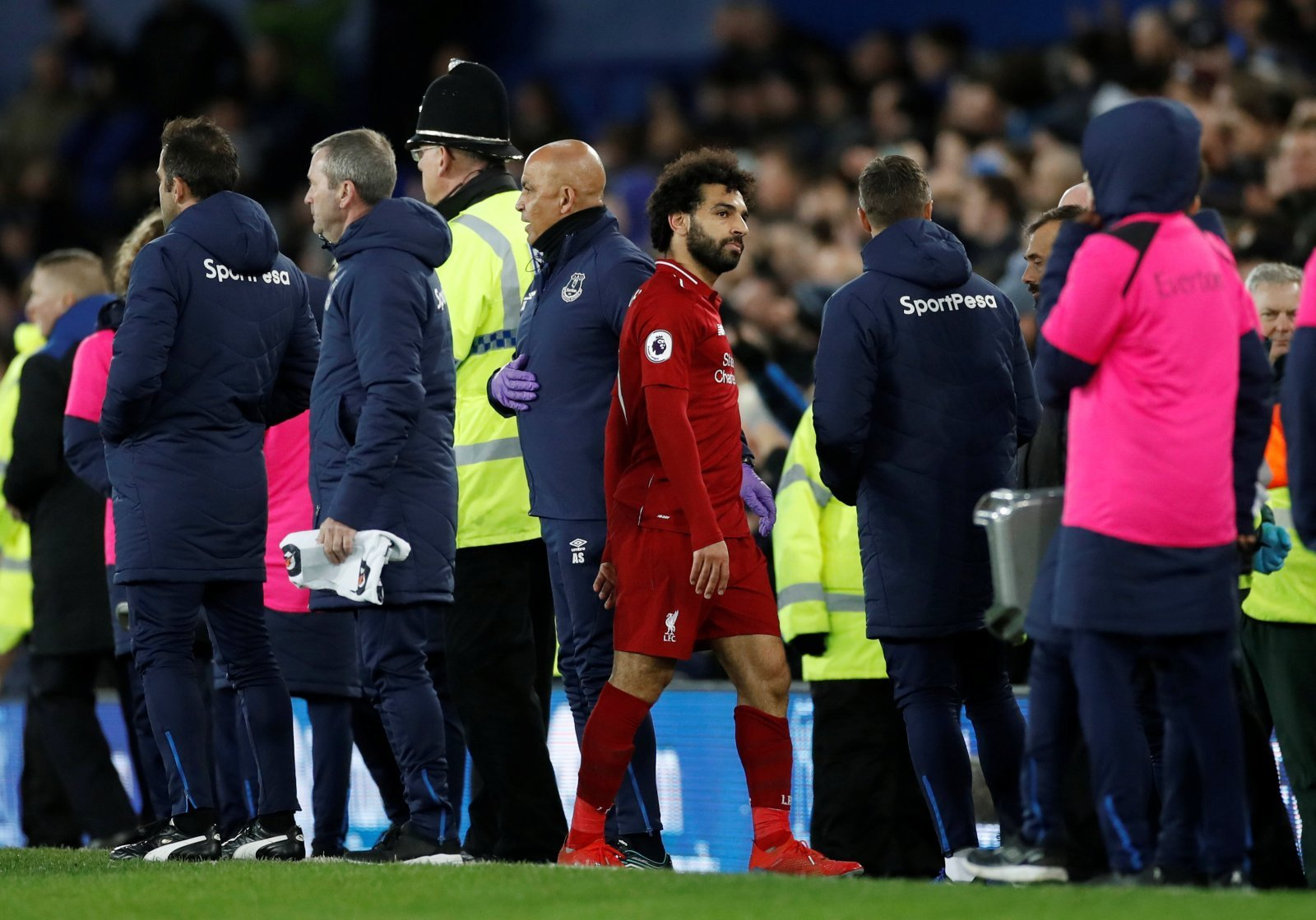 Mohamed Salah crumbling to fiery pressure of the heated title race
