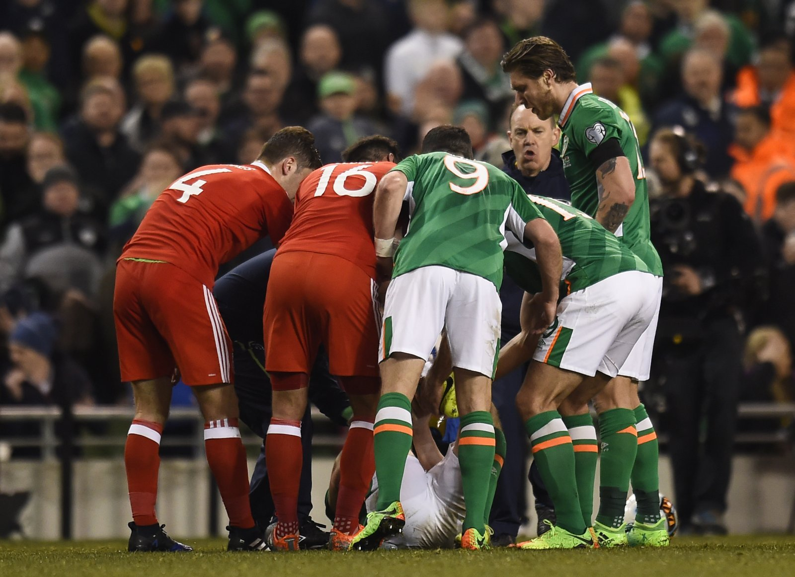 Injury misery: Seamus Coleman and Everton