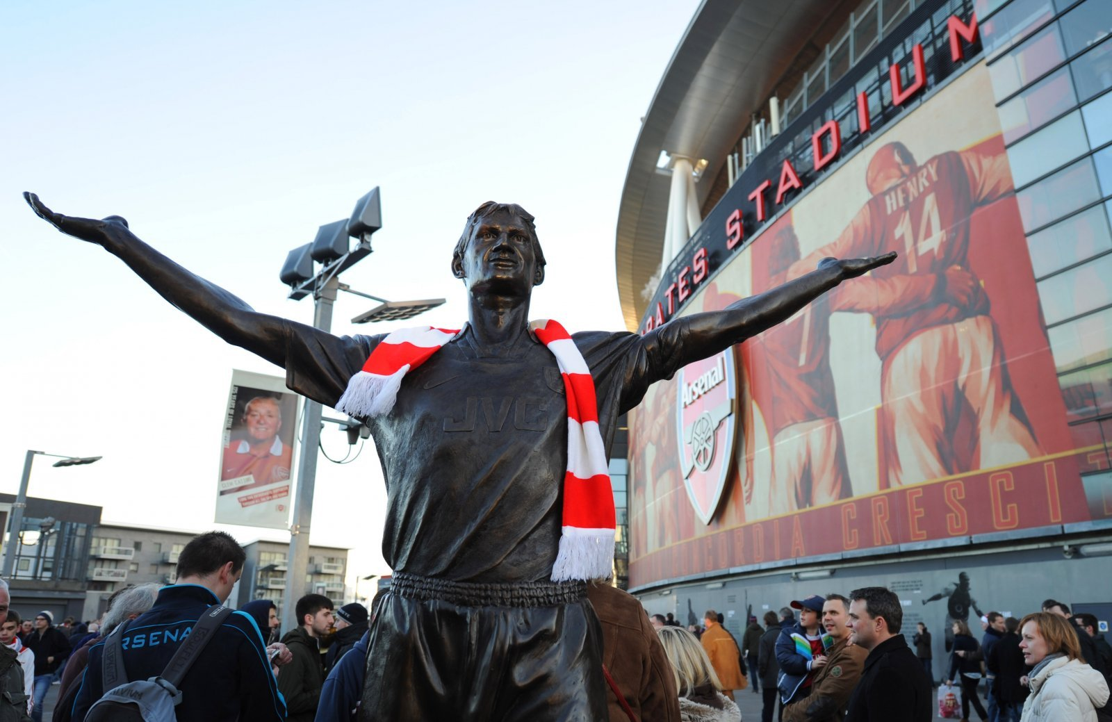 Arsenal: Fans vote Tony Adams as the club's greatest English player