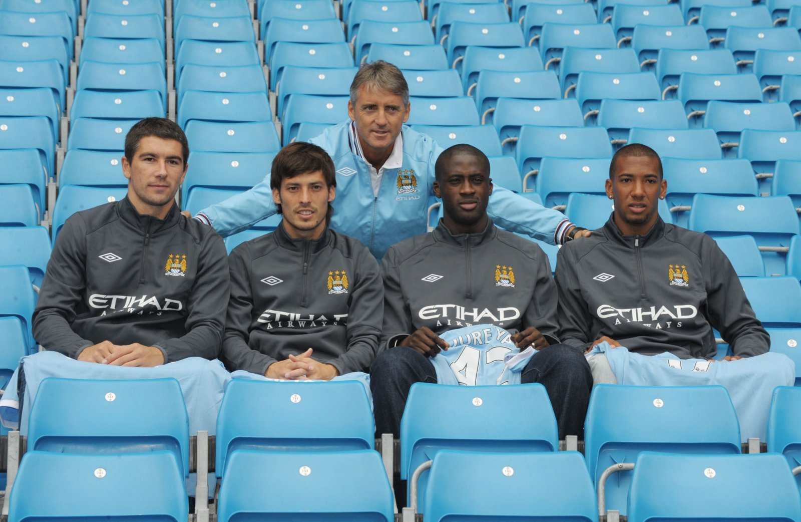 Look at him now: Yaya Toure and Manchester City