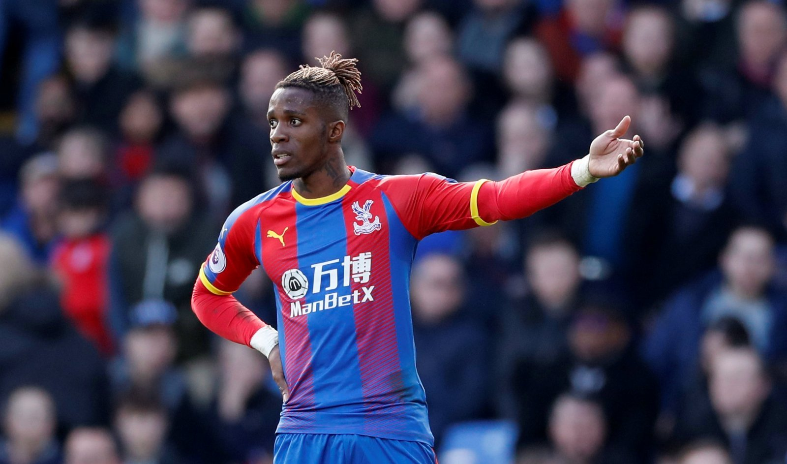Arsenal fans on Twitter hate the idea of £80 million Zaha deal