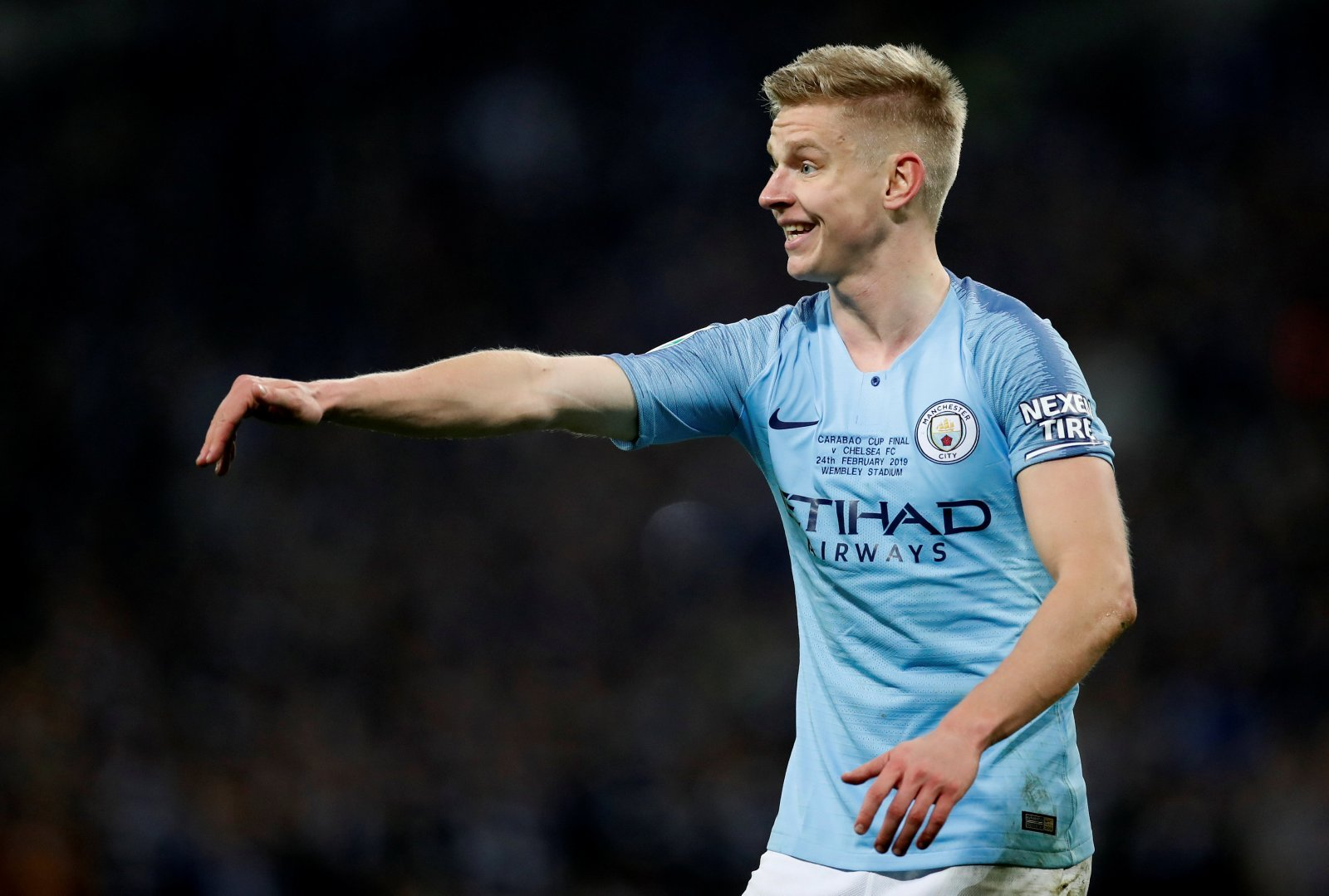 Introducing: Oleksandr Zinchenko the end to Manchester City's left-back woes