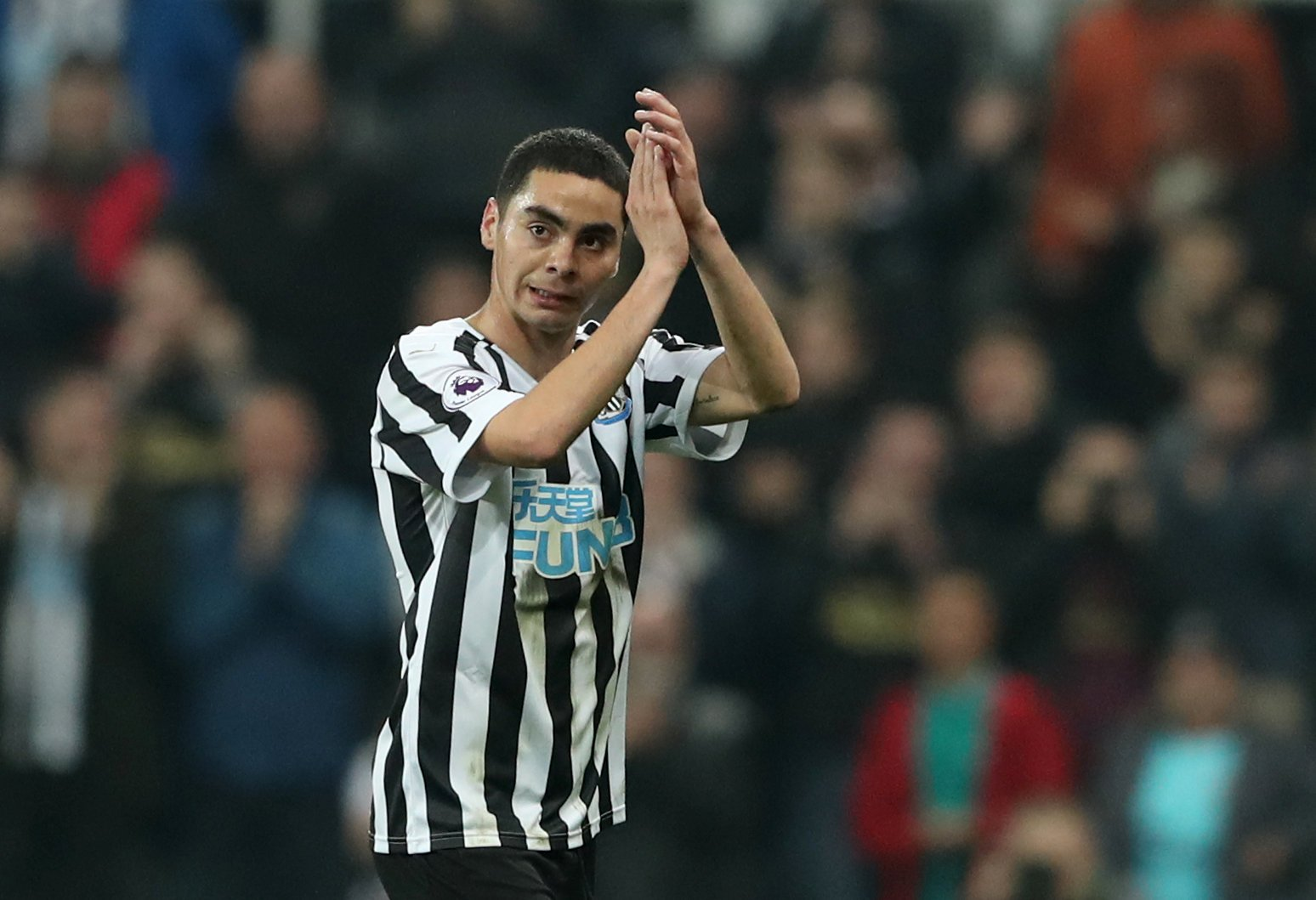 Newcastle United: Fans react to Bruce's words on Almiron