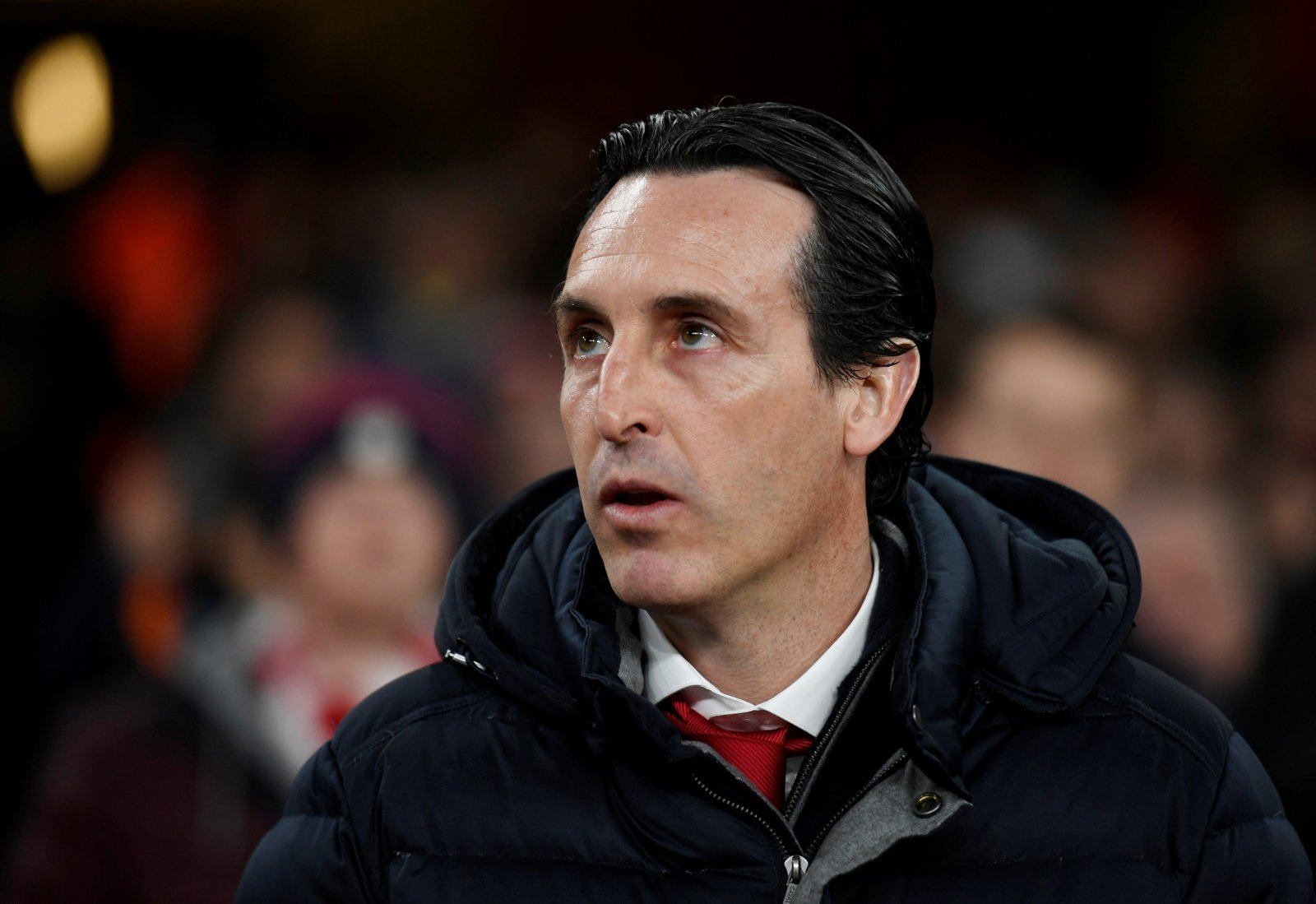 Arsenal: Fans call for Unai Emery to leave after resilient press conference