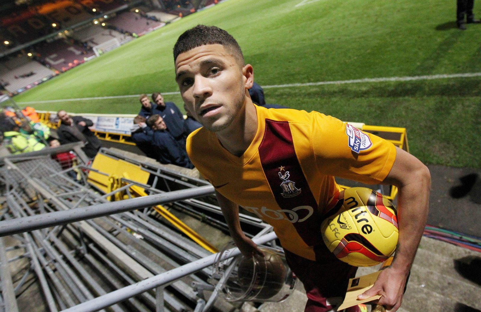 Look at him now: Nakhi Wells and Bradford City