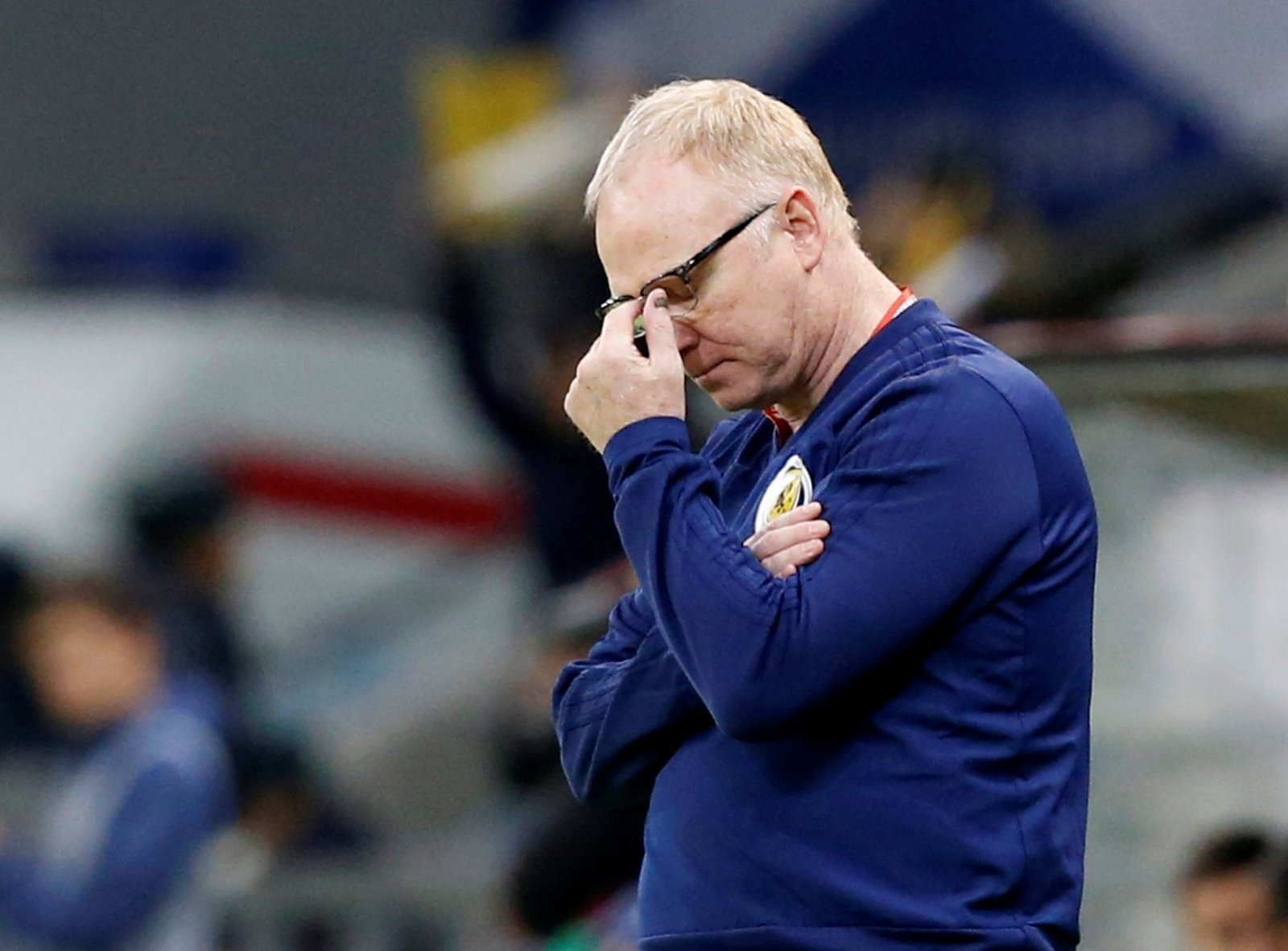 Close shave: Rangers and Alex McLeish
