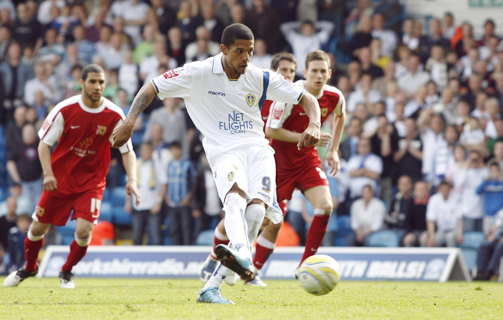 Look at him now: Jermaine Beckford and Leeds United