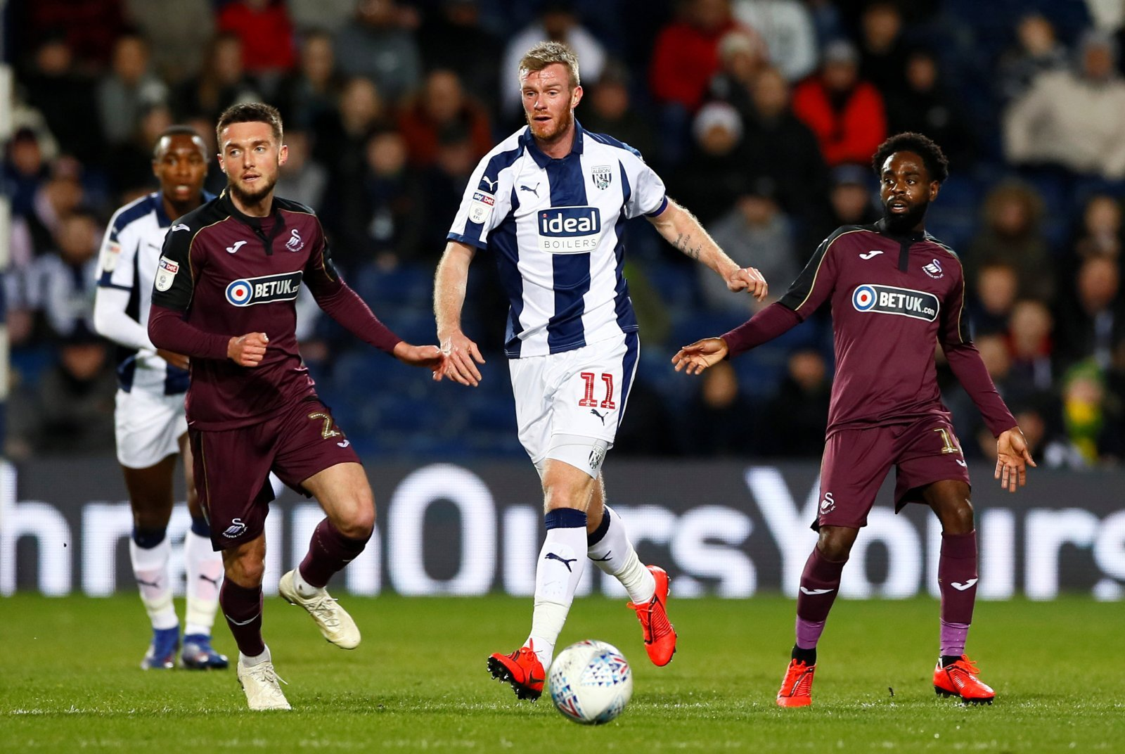 West Brom: Chris Brunt is working wonders for Jimmy Shan