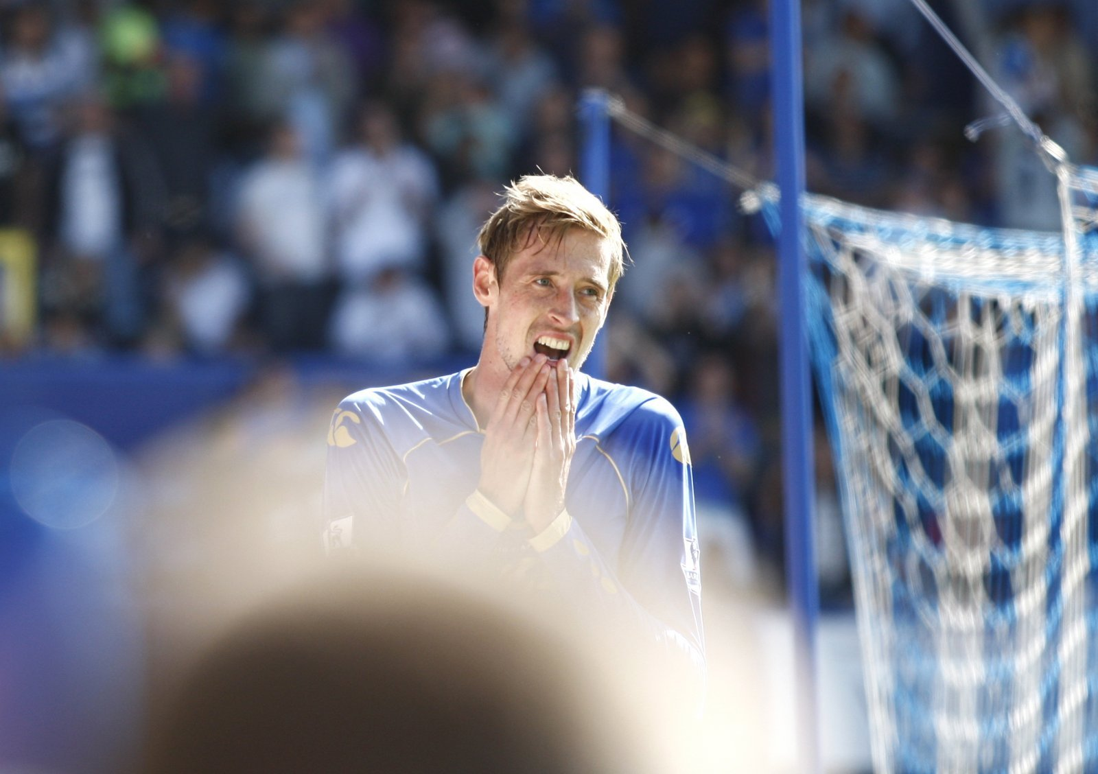 Look at them now: Peter Crouch and Portsmouth