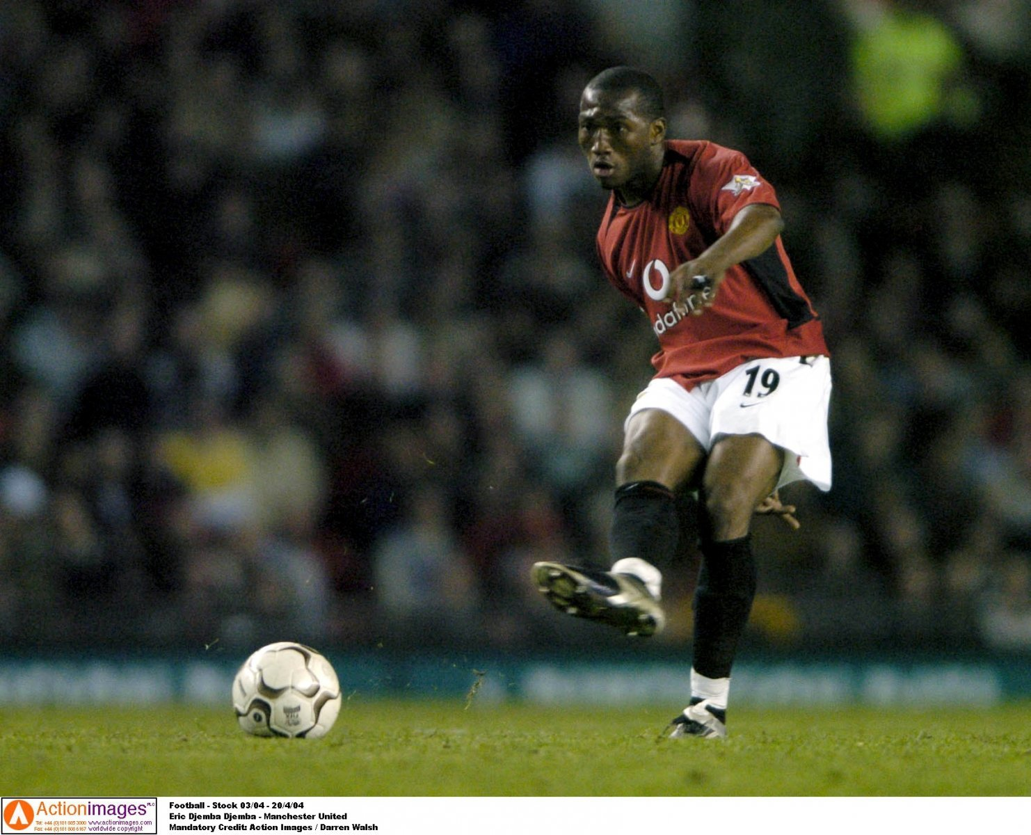 Look at him now: Eric Djemba-Djemba and Manchester United