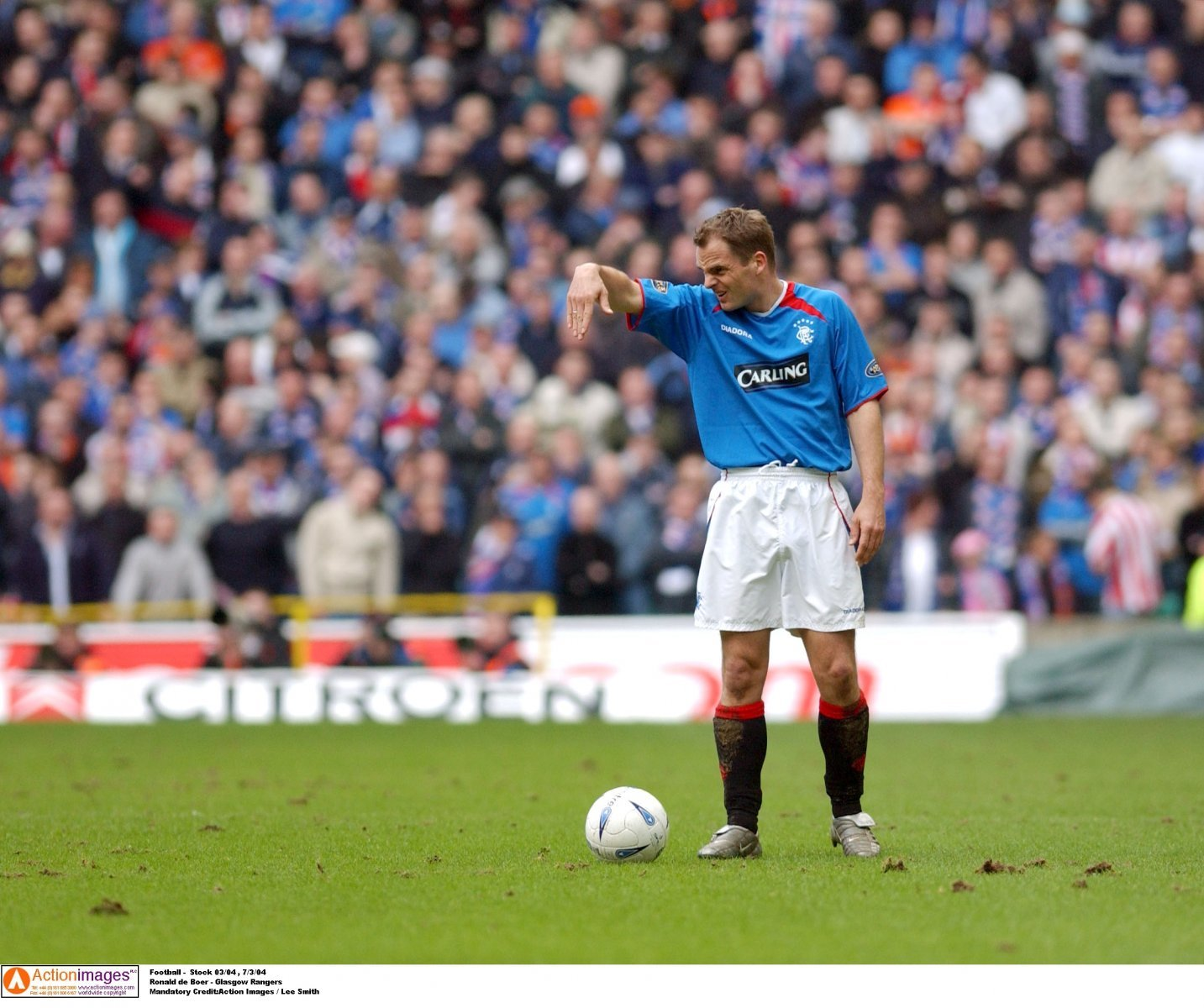 Look at him now: Frank de Boer and Rangers