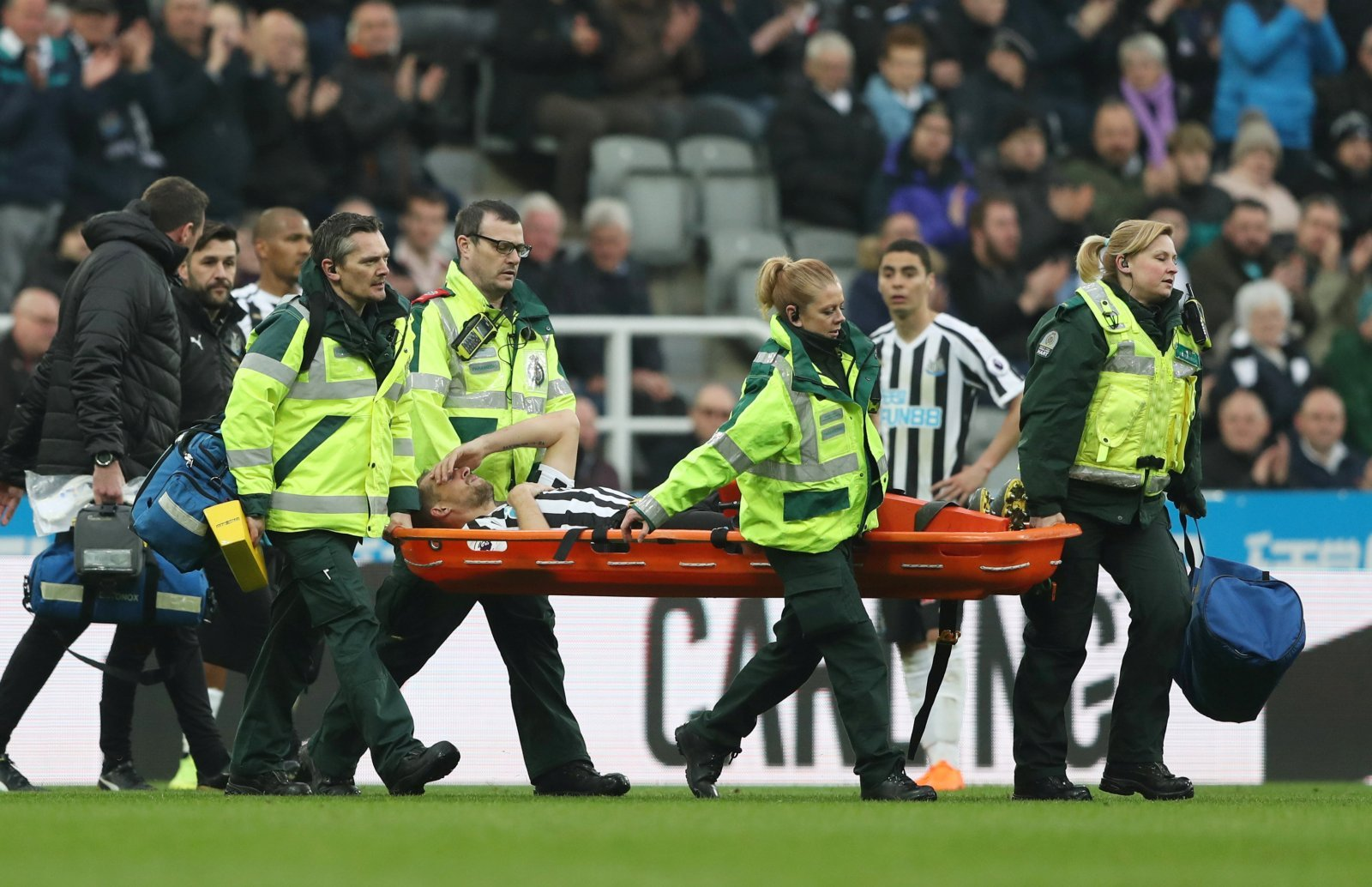 Newcastle United: Fans react to news that Lejeune out for rest of season