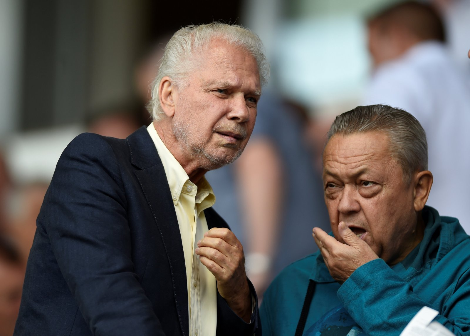 West Ham fans take to Twitter to slam the board after rumoured £30 million budget