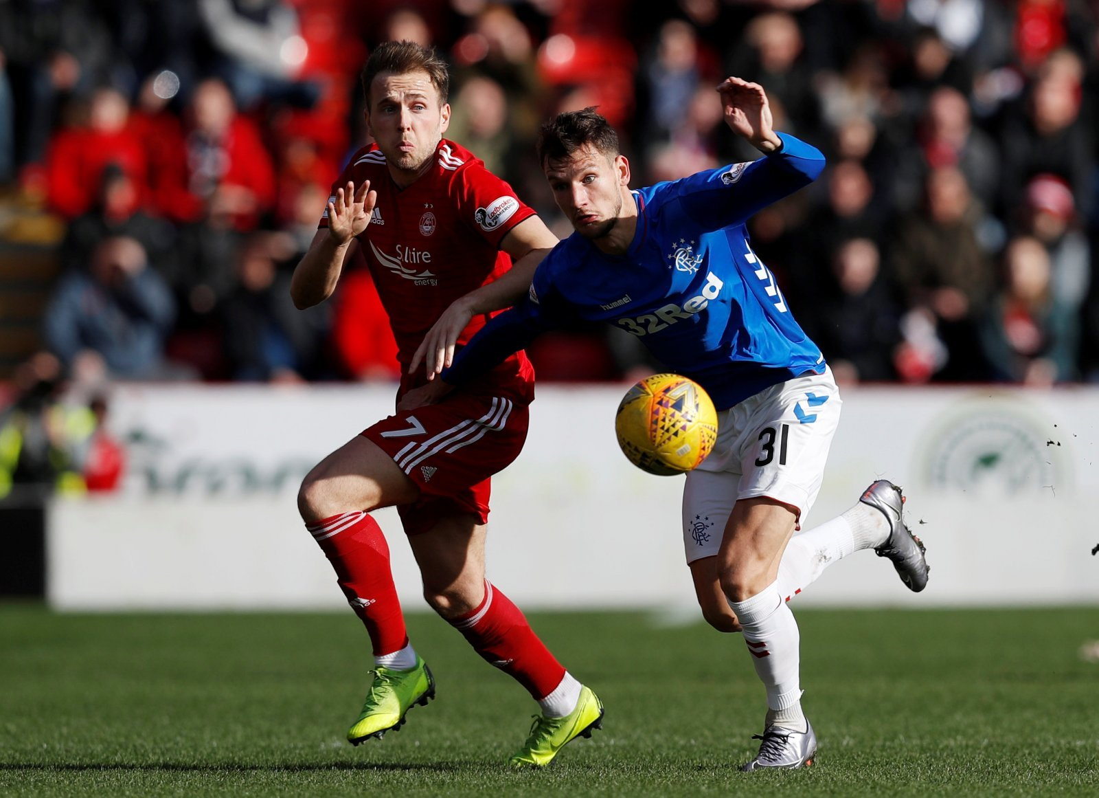 Rangers offer Birmingham City's Greg Stewart a contract to join them in the summer