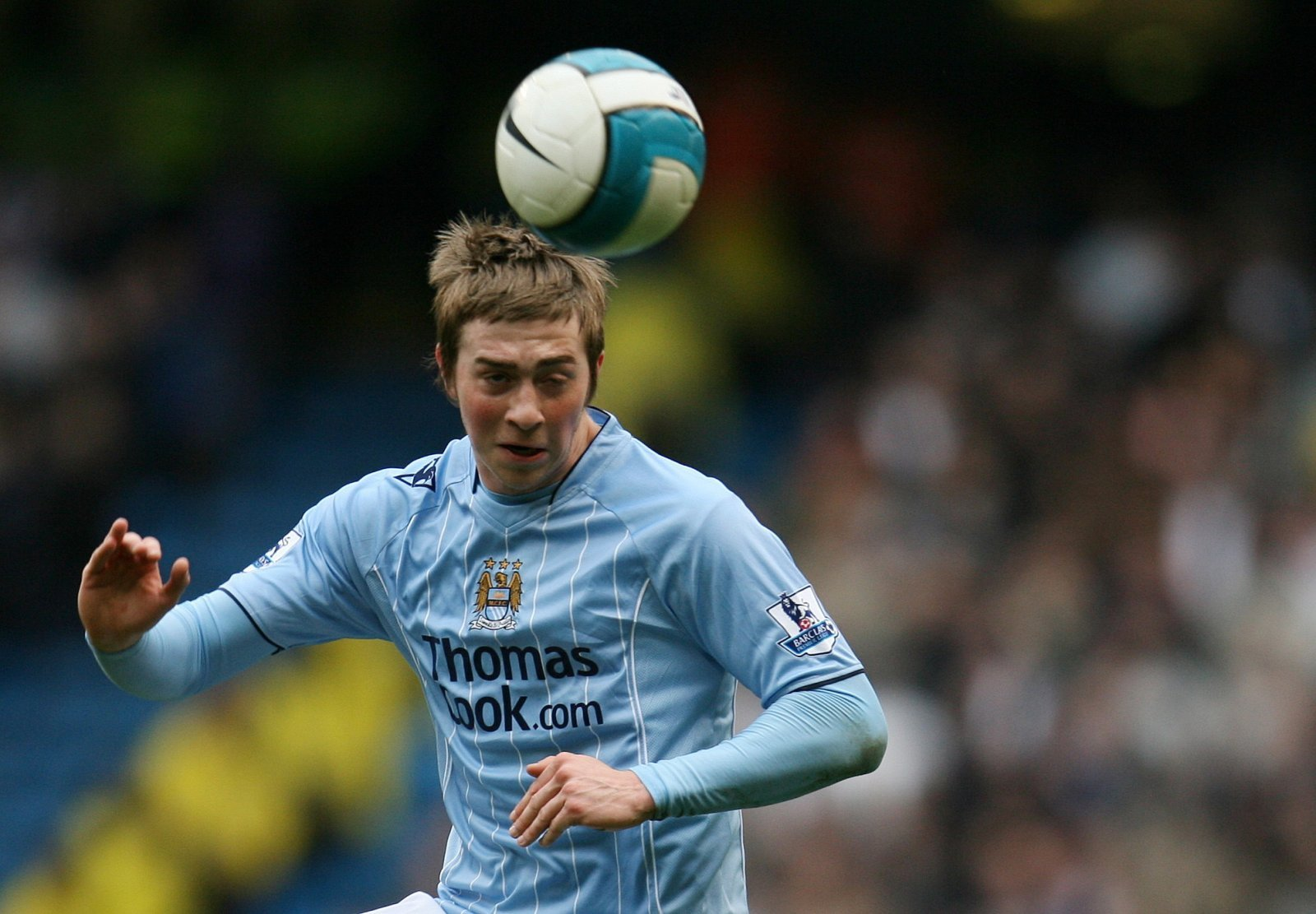 Look at him now: Michael Johnson and Manchester City