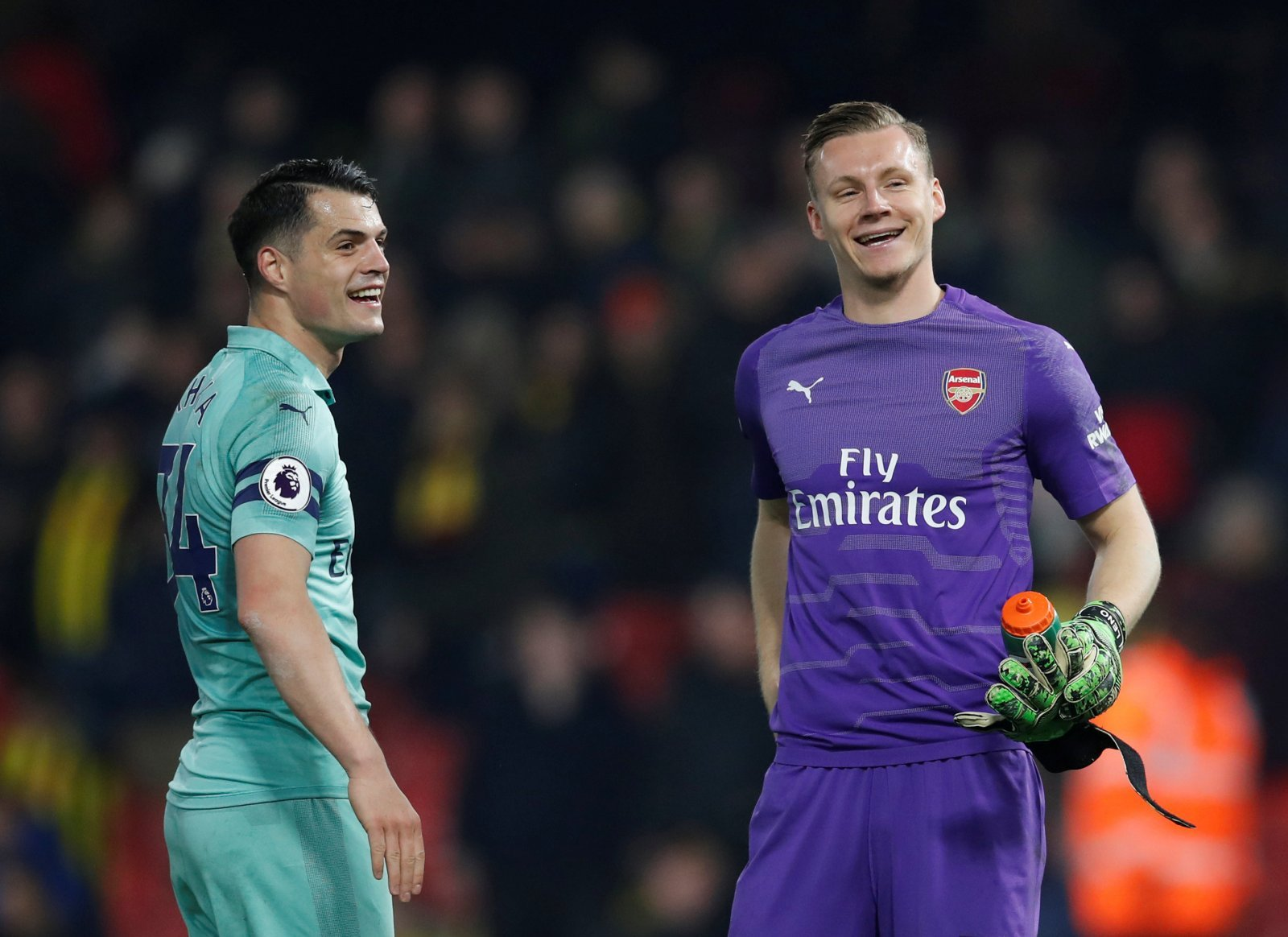Unsung hero: Bernd Leno looking to be Arsenal's best 'keeper in years